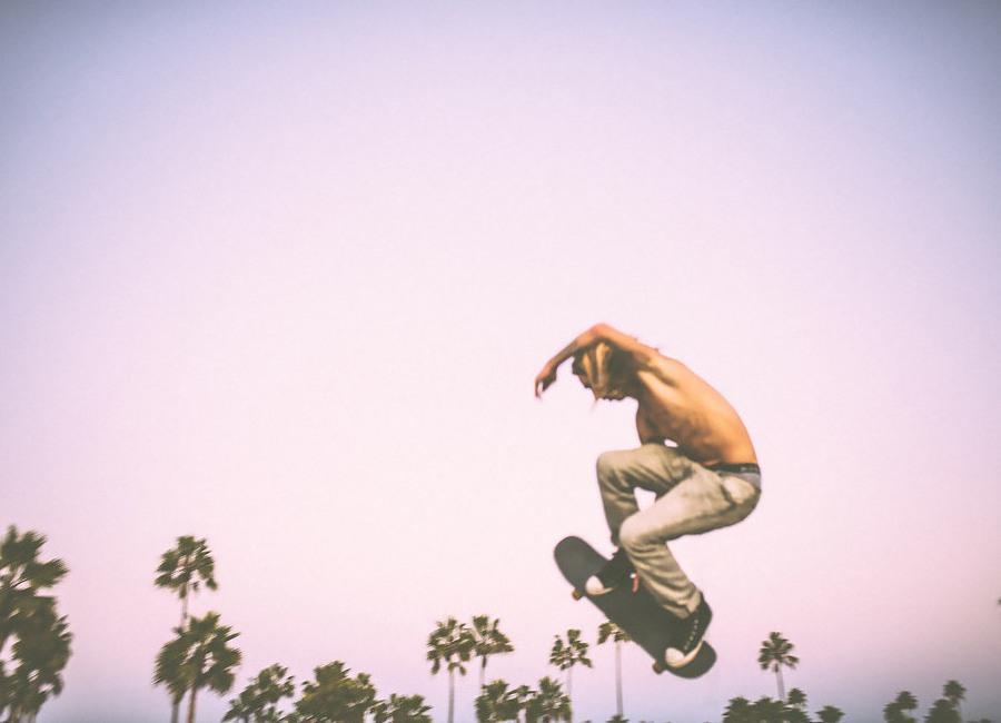 Skate Dreams -Leinwandbild