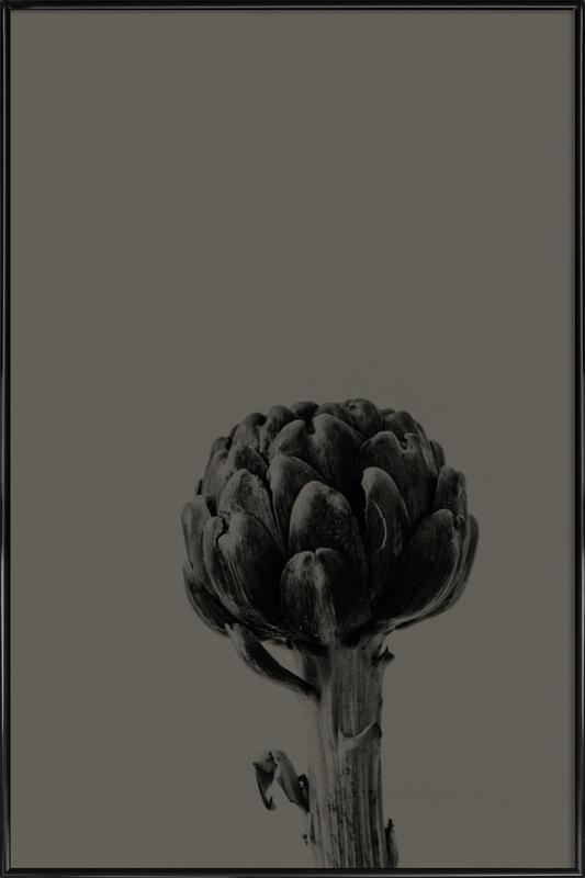 Artichoke Brown Gerahmtes Poster | Dekoration > Bilder und Rahmen > Poster | Mehrfarbig