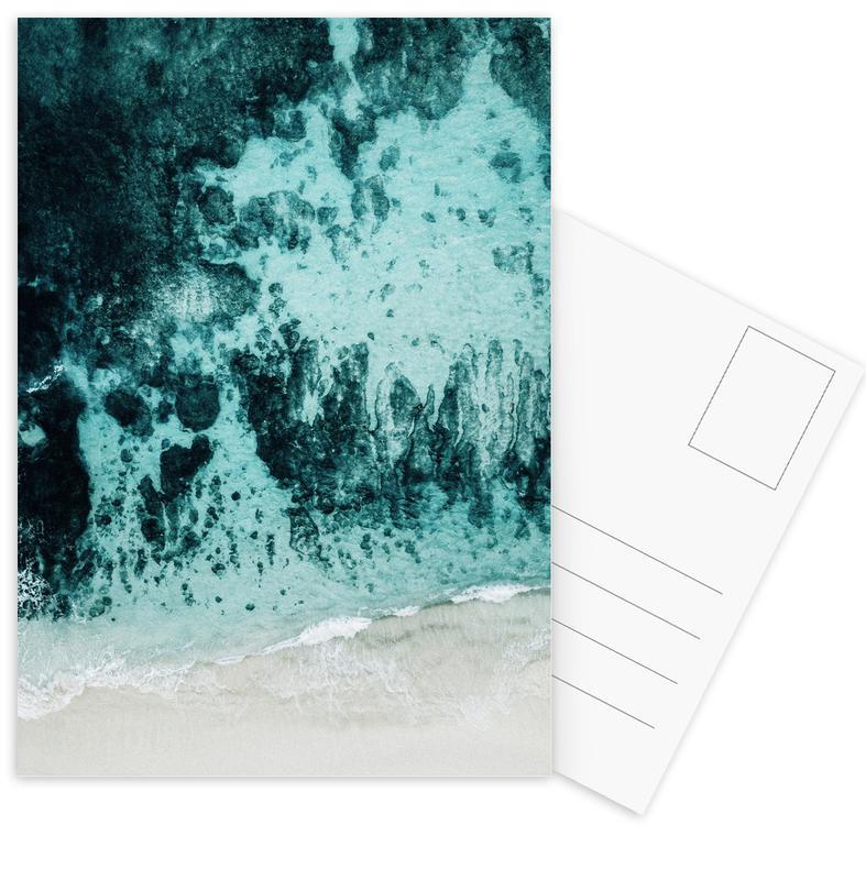 Beach Patterns Postcard Set