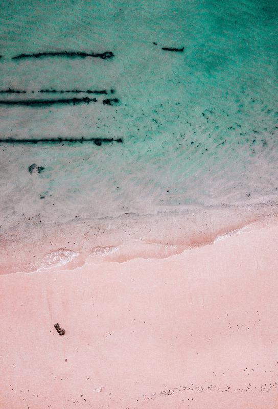 Beach Patterns2 alu dibond