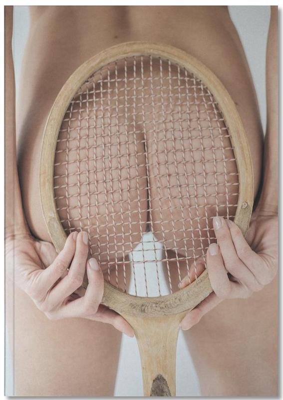 Retro Tennis Notebook