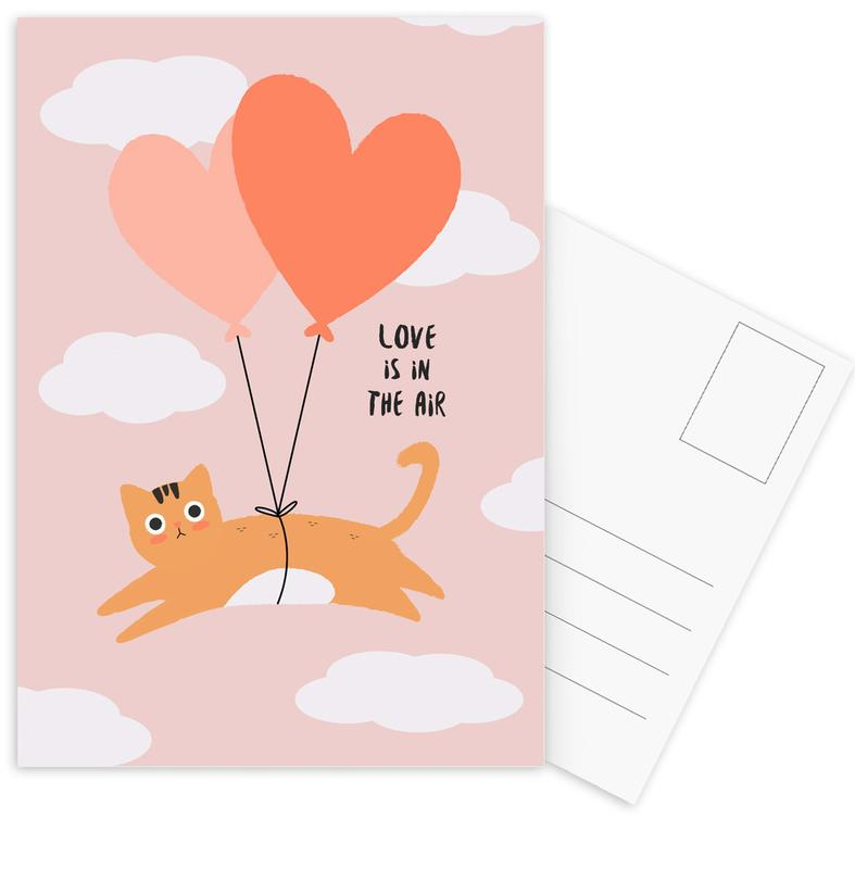 Love Is in the Air Postcard Set