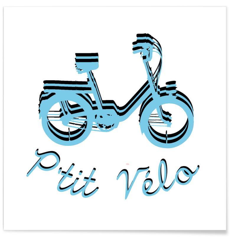 Logo P'tit Vélo Poster
