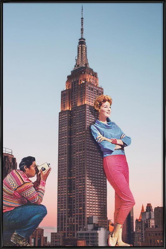 Tourists Gerahmtes Poster | Dekoration > Bilder und Rahmen > Poster