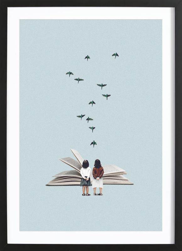 We Communicate Silently Framed Print
