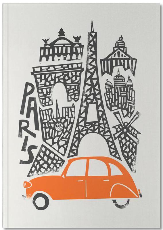 Paris Cityscape Premium Notizbuch | Dekoration > Accessoires