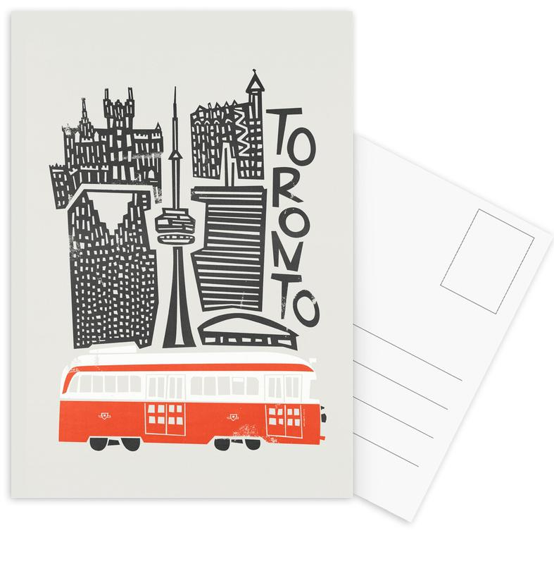 Toronto Cityscape Postcard Set