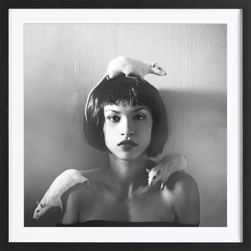 Rat Girl Framed Print