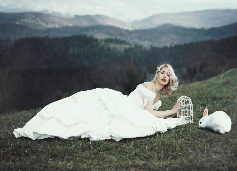 Alice in Wonderland Leinwandbild | Dekoration > Bilder und Rahmen > Bilder | Mehrfarbig | Holz
