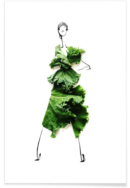 Kale 3 Premium Poster