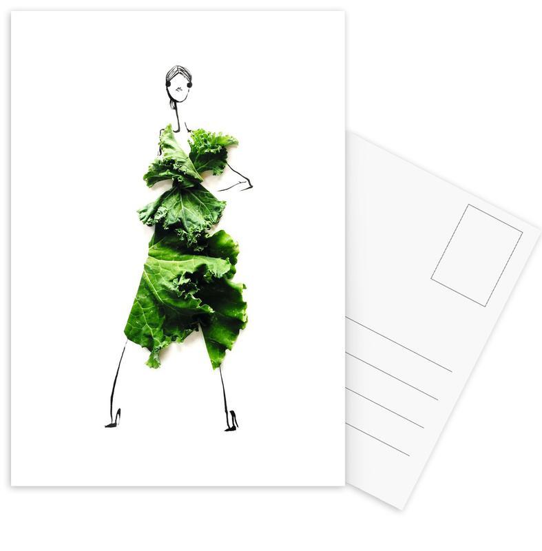 Kale 3 Postcard Set