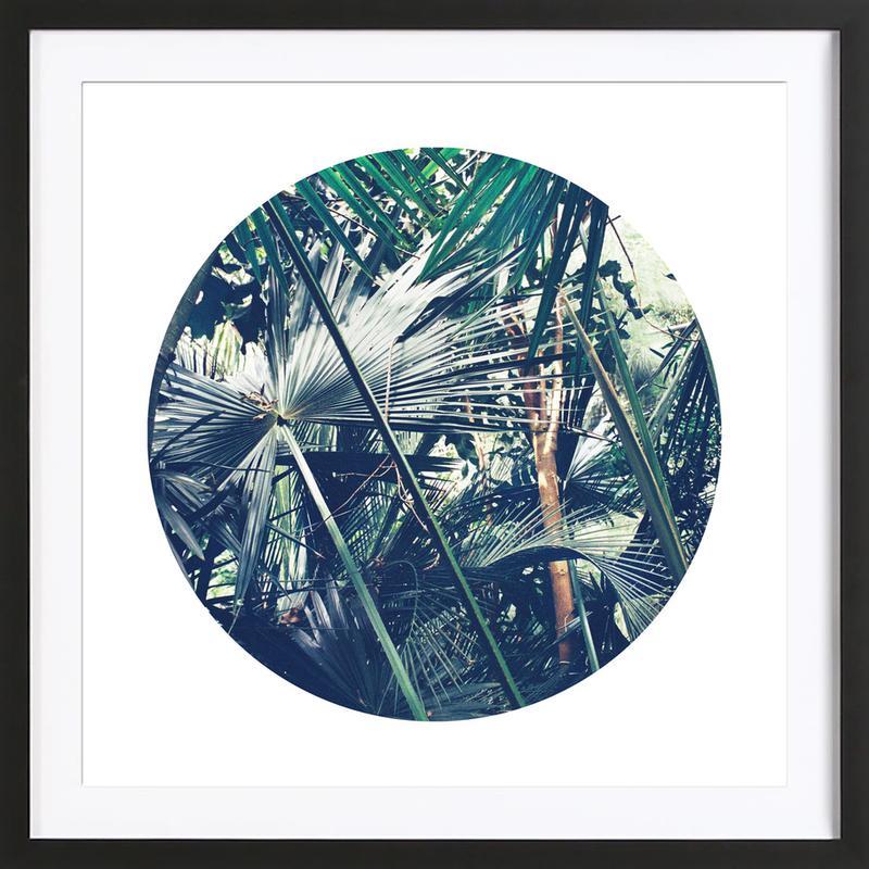 Into the Tropics (Green) Framed Print