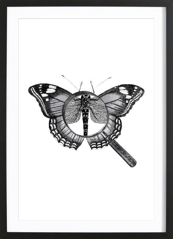 Loeping Good (Butterfly) Framed Print