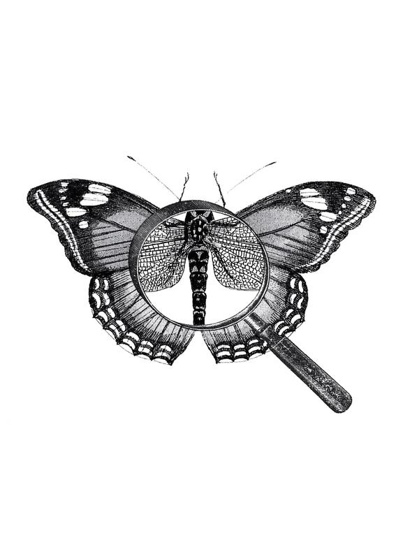 Loeping Good (Butterfly) canvas doek
