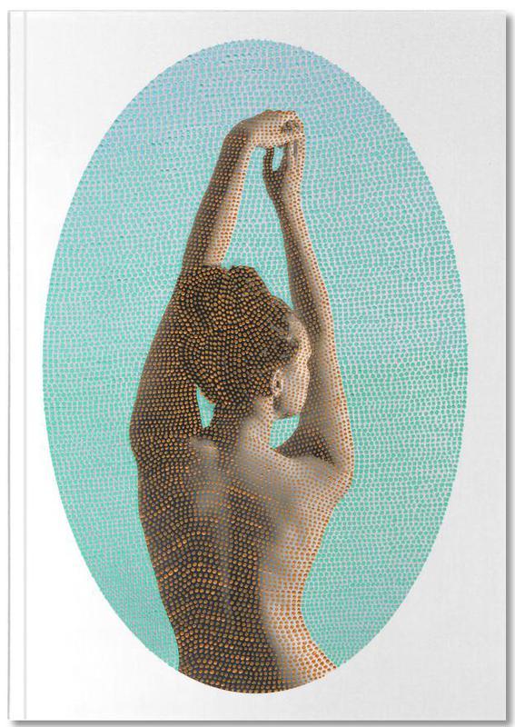 Noise (Mint) Premium Notizbuch | Dekoration > Accessoires | Mehrfarbig | Papier