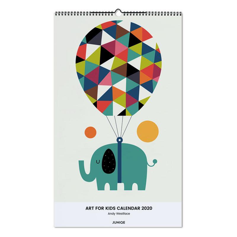 Art For Kids Calendar 2020 - Andy Westface Wall Calendar