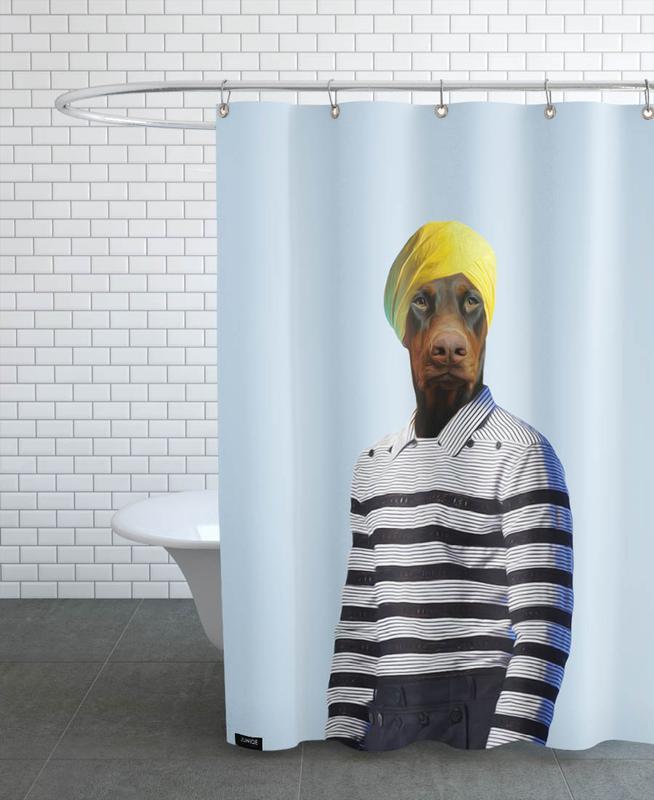 Mr Rasaraj Duschvorhang | Bad > Duschen > Duschvorhänge | Mehrfarbig | Polyester