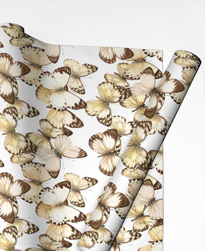 Butterflies Geschenkpapier | Weihnachten > Geschenkideen | Mehrfarbig