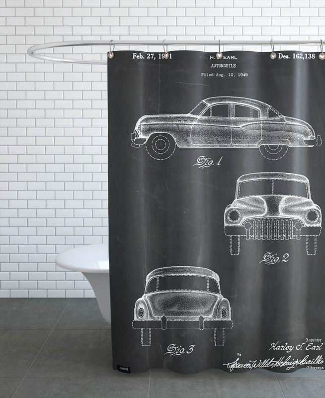 Automobile Shower Curtain