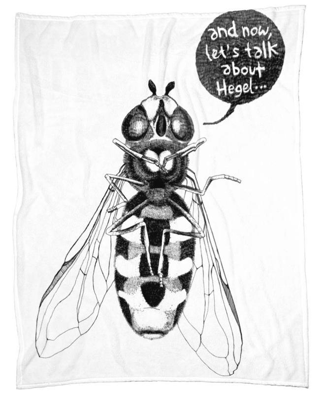 Annoying Bee Fleecedecke | Heimtextilien > Decken und Kissen > Mehr-Decken | Mehrfarbig