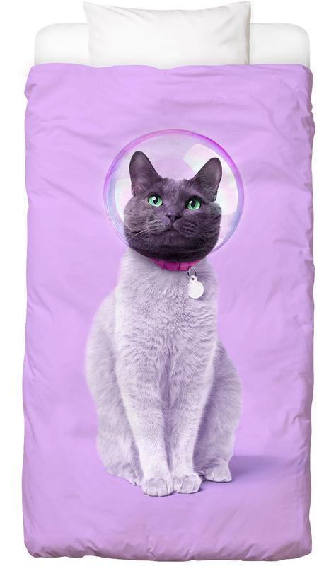 Space Cat Bed Linen