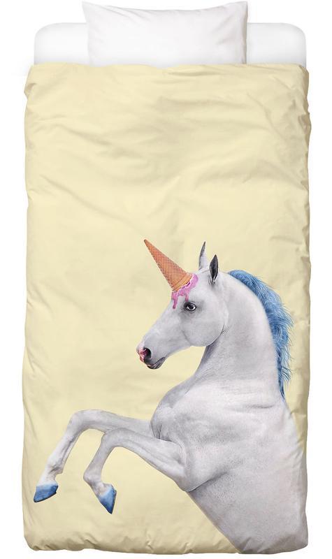 Ice Cream Unicorn Kinderbettwäsche | Kinderzimmer > Textilien für Kinder > Kinderbettwäsche | Mehrfarbig | Baumwolle
