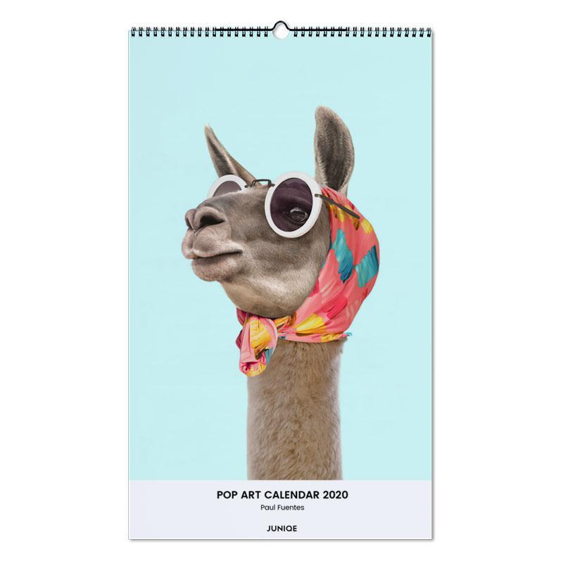 Pop Art Calendar 2020 - Paul Fuentes Wall Calendar
