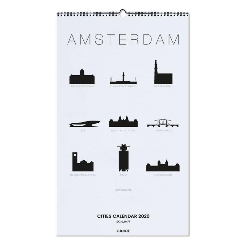 Cities Calendar 2020 - SCHUMFF Wall Calendar