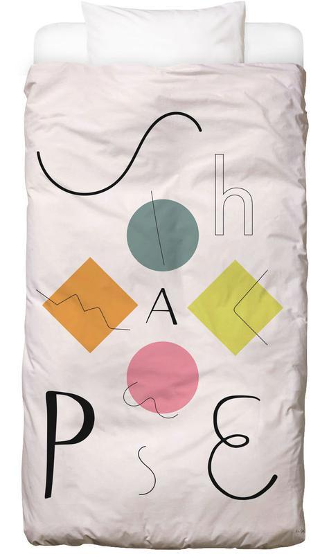Shapes Kinderbettwäsche | Kinderzimmer > Textilien für Kinder > Kinderbettwäsche | Mehrfarbig | Baumwolle