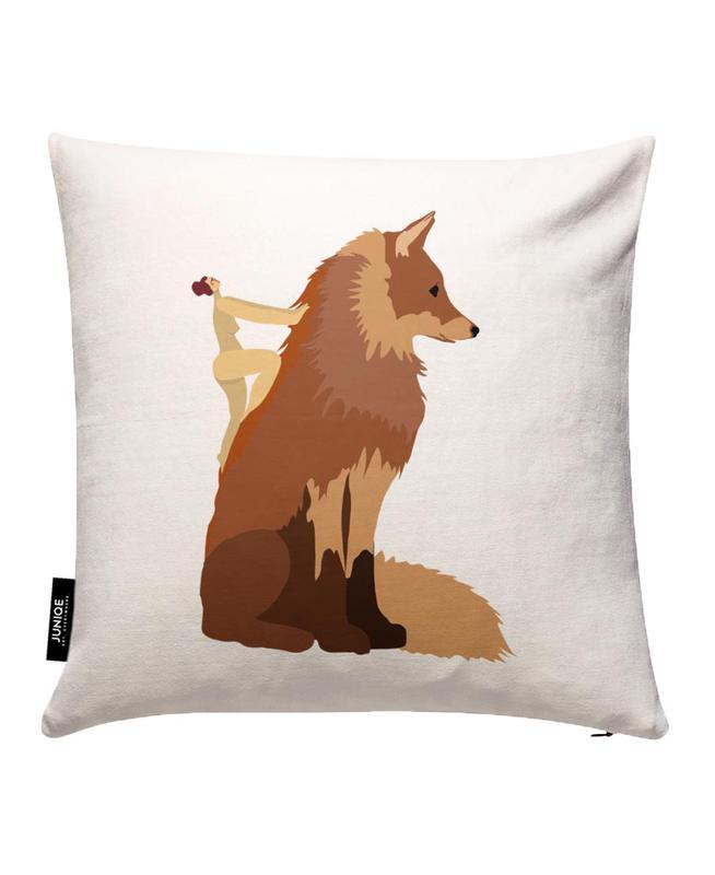 Fox Kissenbezug