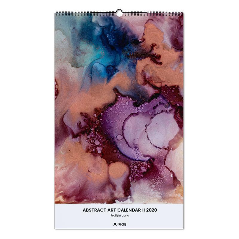 Abstract Art Calendar II 2020 - Froilein Juno -Wandkalender