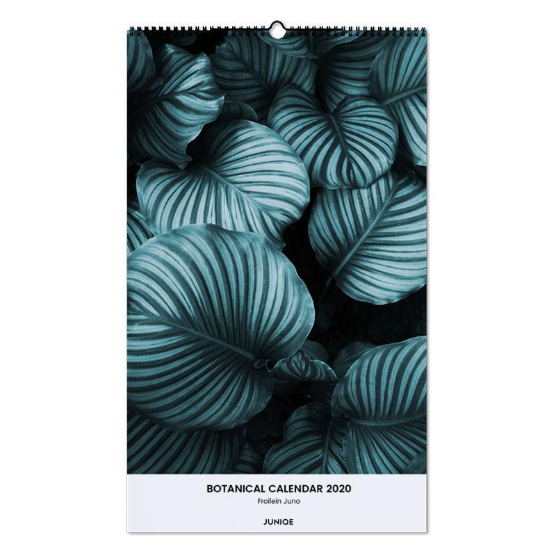 Botanical Calendar 2020 - Froilein Juno Wall Calendar