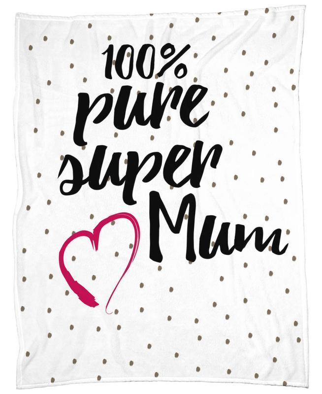 Super Mum plaid