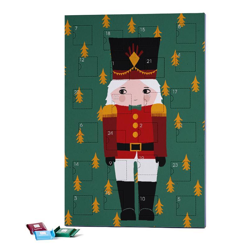 Nussknackerjunge 2019 Chocolate Advent Calendar - Ritter Sport