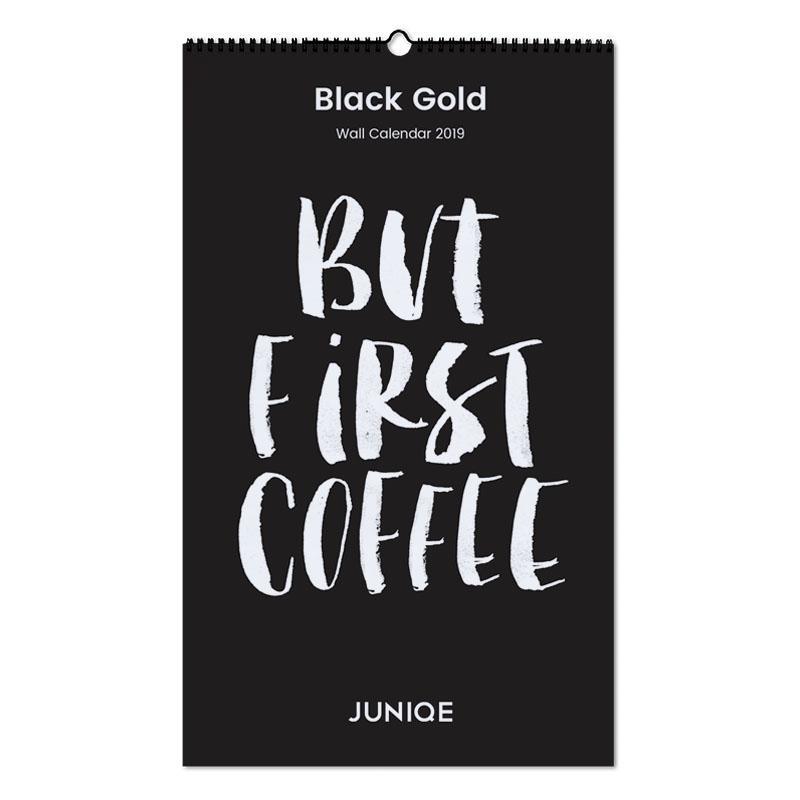 Black Gold 2019 Wandkalender
