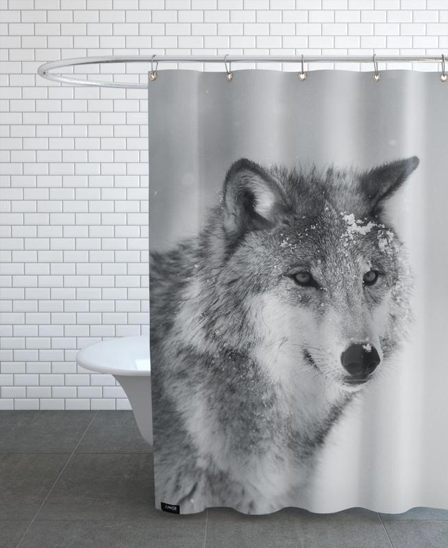 The Wolf rideau de douche