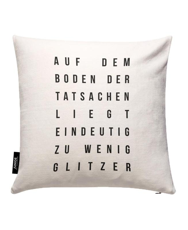 Sabrina's Glitzer Cushion Cover
