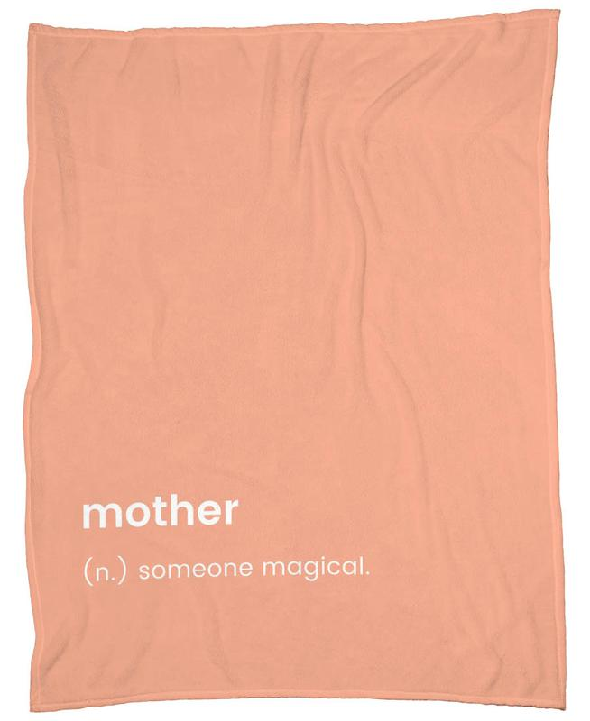 For Mum -Fleecedecke
