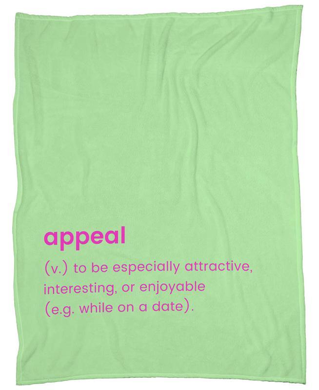 Appeal Fleece Blanket