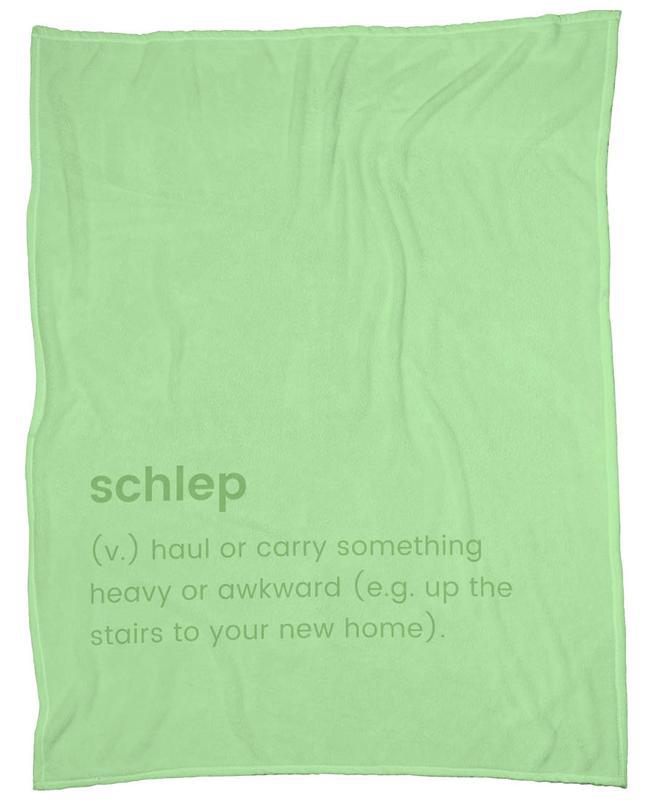 Schlep Fleecedecke | Heimtextilien > Decken und Kissen > Mehr-Decken | Mehrfarbig