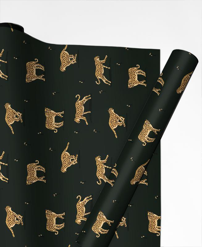 Leopard Pattern Geschenkpapier   Weihnachten > Geschenkideen   Mehrfarbig