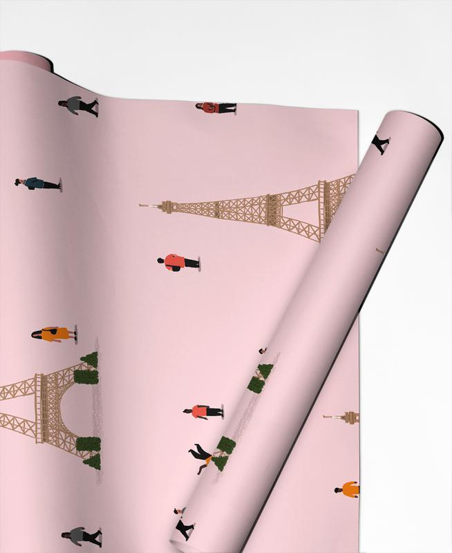 Paris Pattern Gift Wrap