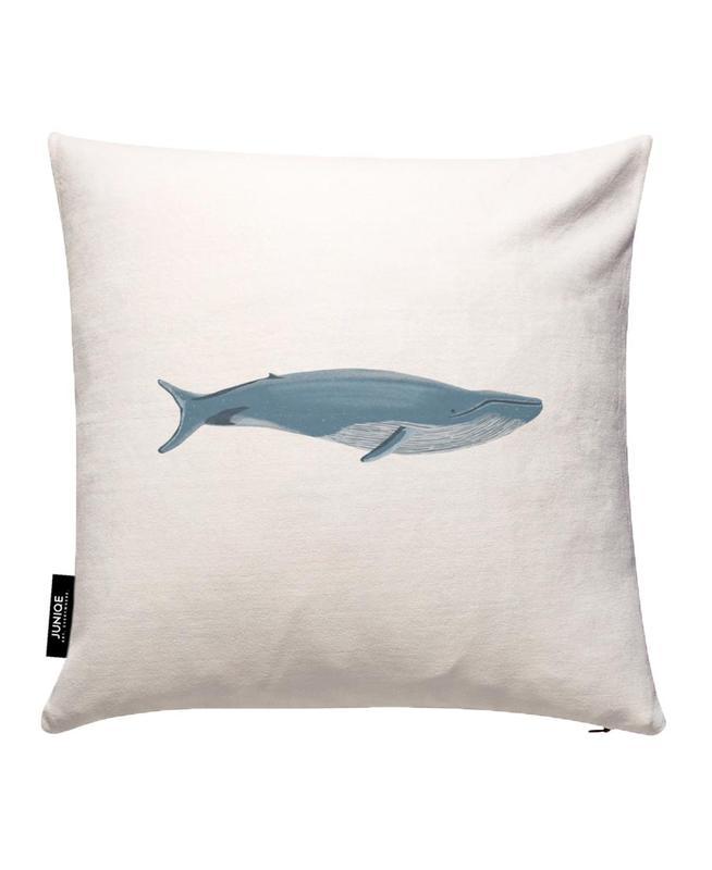 Blue Whale Cushion Cover