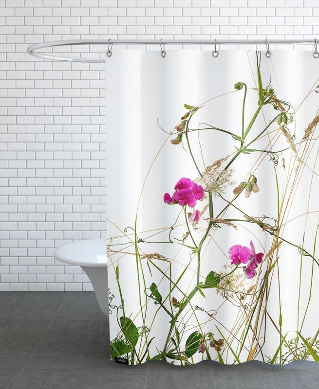 Flora Wicke Duschvorhang | Bad > Duschen > Duschvorhänge | Mehrfarbig | Polyester