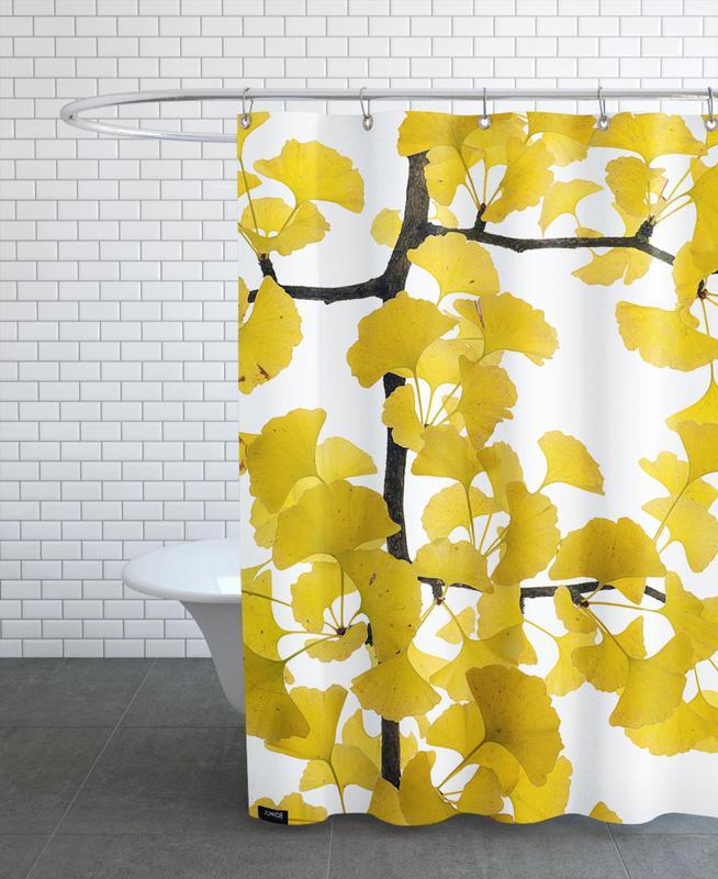 Flora - Ginko Shower Curtain
