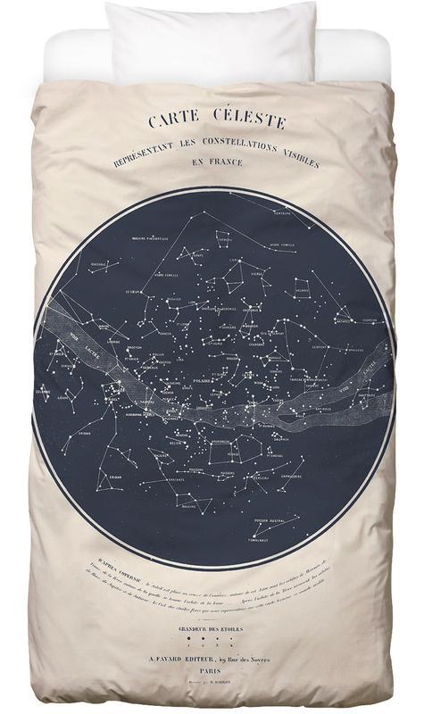 Carte du Ciel Bettwäsche