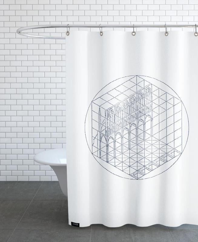 Facade -Duschvorhang