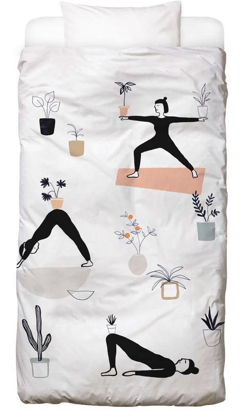 Yoga With Plants 04 Bettwäsche