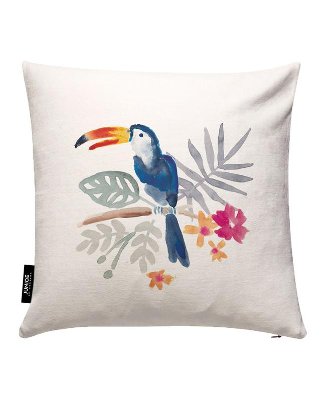 Toucan Jungle Cushion Cover