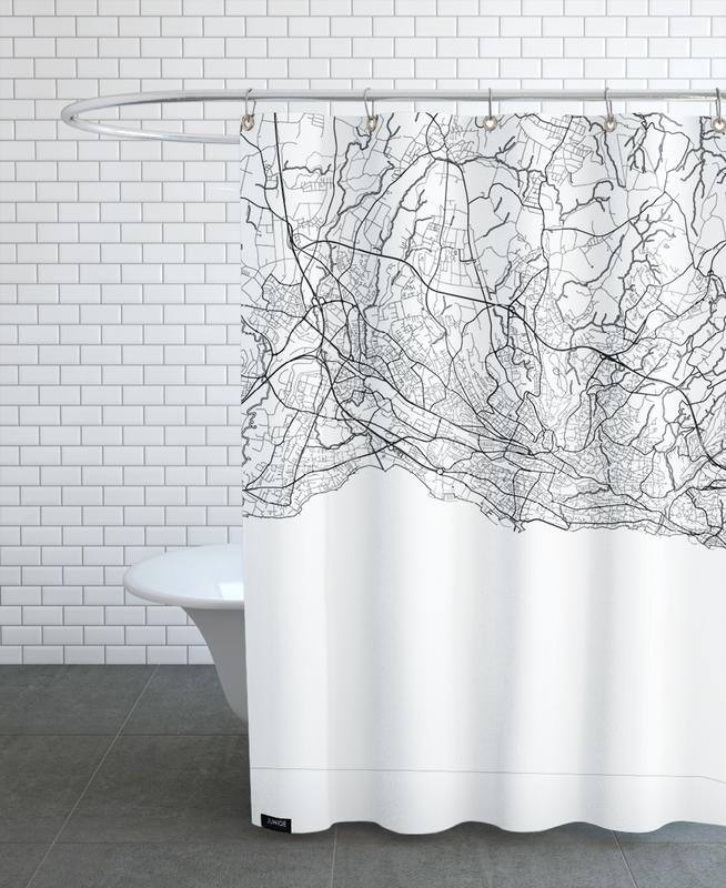 Lausanne Minimal -Duschvorhang